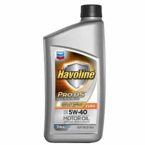 Havoline® Prodstm Full Synthetic Motor Oil Sae 5W-40, Euro 5W-40