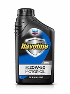 Havoline® Motor Oil API SF SAE 20W-50