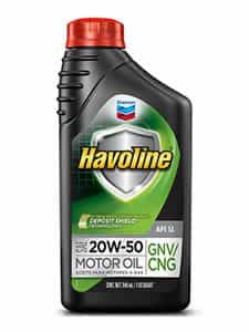 Havoline® Motor Oil Gas API SL SAE 20W-50