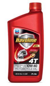 Havoline ® Motor Oil 4T  SAE 10W-40 API SL