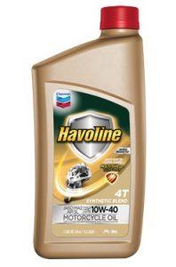 Havoline ® Motor Oil 4T  SAE 10W-40 SB API SL