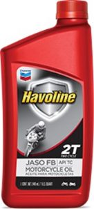 Havoline® Motorcycle Oil 2T JASO FB