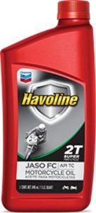 Havoline® Super Motorcycle Oil 2T JAFO FC