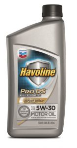 Havoline® Prodstm ™ Synthetic Motor Oil  SAE 5W-30 API SN