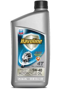 Havoline® Full Synthetic Motorcycle Oil 4T  SAE 5W-40 JASO MA2
