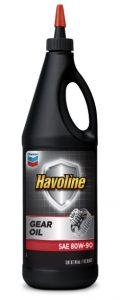 Havoline® Gear Oil SAE 80W-90