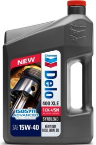DELO® 400 XLE SAE 15W-40 (Synthetic Technology)