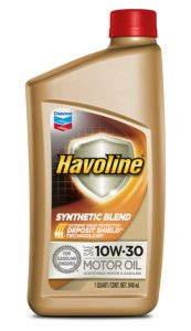 Havoline® Synthetic Blend Motor Oil  SAE 10W-30 API SN