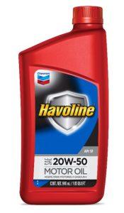 Havoline ® Motor Oil SAE 20W-50 API SF