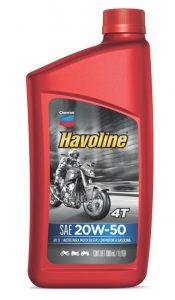 Havoline ® Motor Oil 4T  SAE 20W-50 API SF