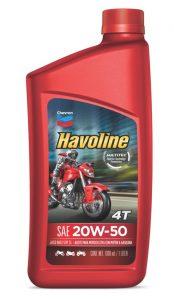 Havoline ® Motor Oil 4T  SAE 20W-50 API SL