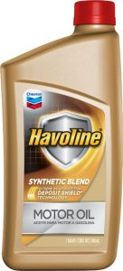 Havoline® Synthetic Blend Motor Oil  SAE 5W-20 API SN