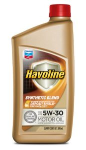 Havoline® Synthetic Blend Motor Oil  SAE 5W-30 API SN