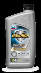 Havoline® Pro-ds™ Full Synthetic Motor Oil SAE 0W-16, 0W-20, 5W-20, 5W-30, 10W-30 API SN